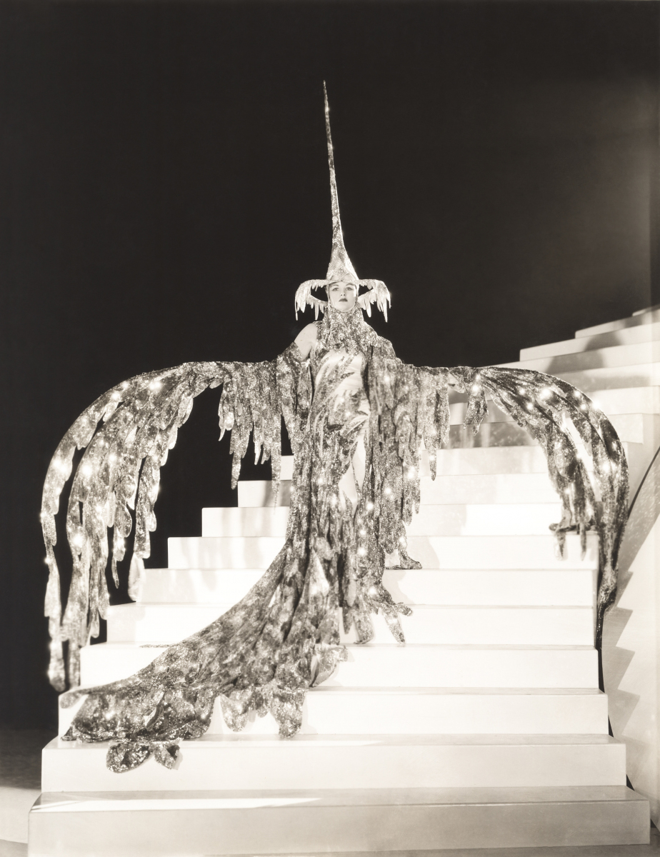 """Zelda Ayres in the Cadence's first musical revue, """"Bird of Paradise,"""" 1928."""